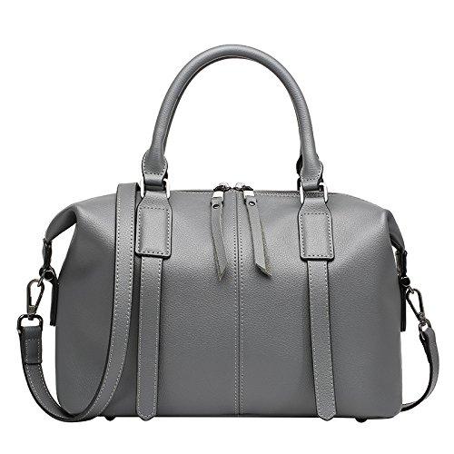 Occasionnels Messenger Bandoulière Sacs Bag Voyage La De Vintage Main Gray Femmes Des Sac À Mode HwSggP