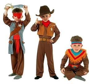 Cesar Q728-002 - Disfraz de indio para niño (8 años)
