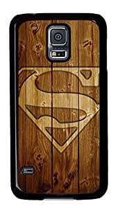 galaxy s5 case,custom samsung galaxy s5 case, Wood background Superman logo diy samsung galaxy s5 case,TPU Material,Drop Protection,Shock Absorbent,cute,lifeproof,waterproof