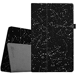 """Fintie Folio Case for All-New Amazon Fire HD 10 Tablet (7th Generation, 2017 Release) - Premium PU Leather Slim Fit Smart Stand Cover with Auto Wake/Sleep for Fire HD 10.1"""" Tablet, Constellation"""