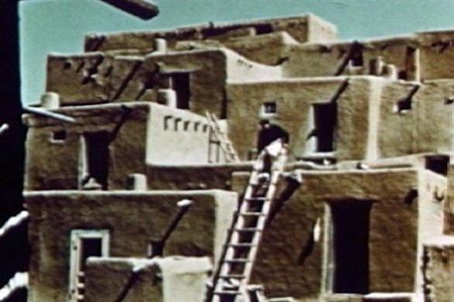1950 Pueblo, Taos, Zuni & Acoma Southwest Indians Film: Vintage Pueblos Native North American Indian Educational Movie