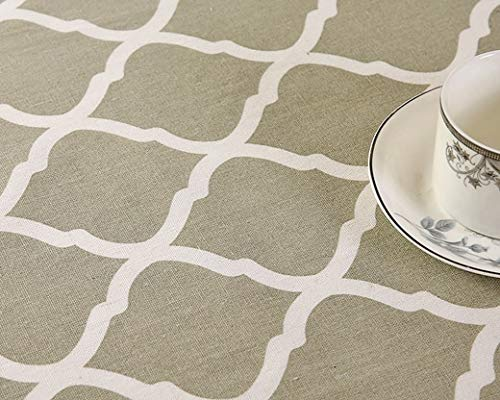 (LIAOYLY Geometric Table Cloth Tablecloth Nappe Cover Party Wedding Home Decoration Mantel Textile,Color F,140160cm,)