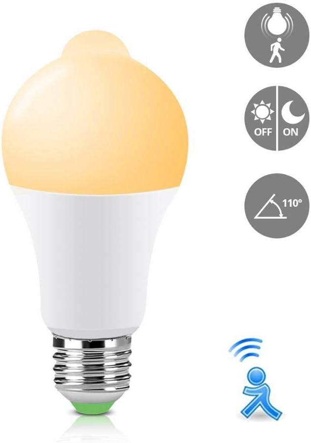 Sensor de movimiento PIR Luz nocturna E27 220V 110V 12W 18W Bombillas LED para pasillo Pasillo Pasillo Seguridad nocturna Iluminación de emergencia