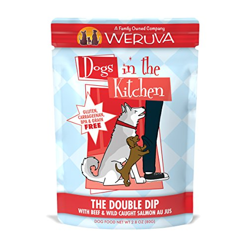 Weruva Dogs in the Kitchen, The Double Dip with Beef & Wild-