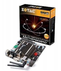 ZOTAC Atom Dual-Core D525 Intel NM10 DDR3 A&V&GbE Wi-Fi Mini ITX Motherboard - IONITX-S-E