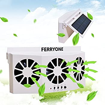 Amazon.com: ferryone funciona con energía solar coche Cool ...