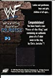 2000 WWF Chris Jericho AUTHENTIC WORN T SHIRT Relic Insert
