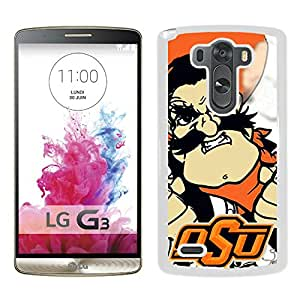oklahoma state cowboys White Hard Plastic LG G3 Phone Cover Case