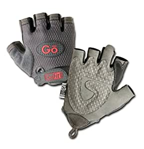 GoFit Women's Pearl-Tac Weightlifting Glove with Training CD (X-Small)