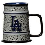 MLB Los Angeles Dodgers Stone Stein, One Size, Multicolor
