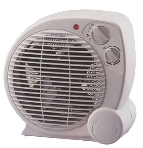 Pelonis HB211T Fan Forced Electric Heater 3-Power (Electric Fan Forced Heater)