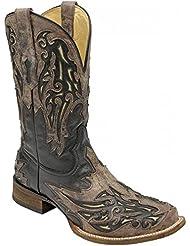 Corral Mens Square Toe Cowboy Boots