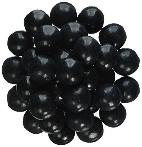 Sweetworks Celebration Gumballs, Black, 2.0 Pound