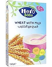 سيريال قمح مع الحليب من هيرو بيبي