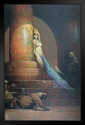 Egyptian Queen by Frank Frazetta Art Print Framed Poster 14x20 inch