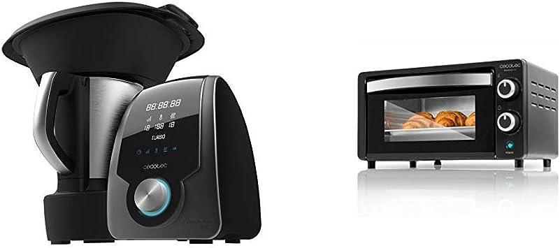 Cecotec Robot de Cocina Multifunción Mambo 7090 + Horno Conveccion Sobremesa Bake&Toast 450: Amazon.es: Hogar