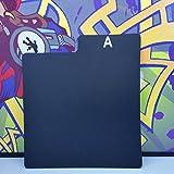 A~Z Box Dividers/Black / 25 pc + 1 Free dj Magnet