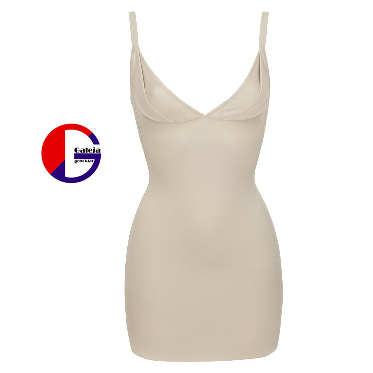 Südtrikot Cybele Miederkleid Push up Figurformendes Kleid Shapewear 2 Farben 7 Gr. 36/S - 48/4XL 14390