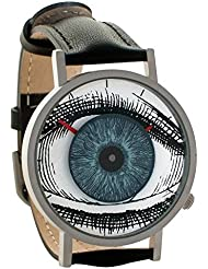 Eye Watch - All Seeing Eye Freemasonry Illuminati Unisex Analog Watch