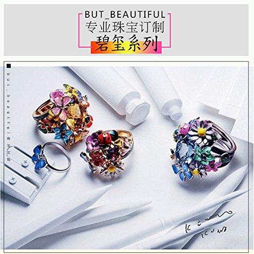 TKHNE Wang Luo Dan fusidic melon tourmaline stone cabochon loose beads bracelets bracelet ring necklace pendant set with 18 custom processing gold I