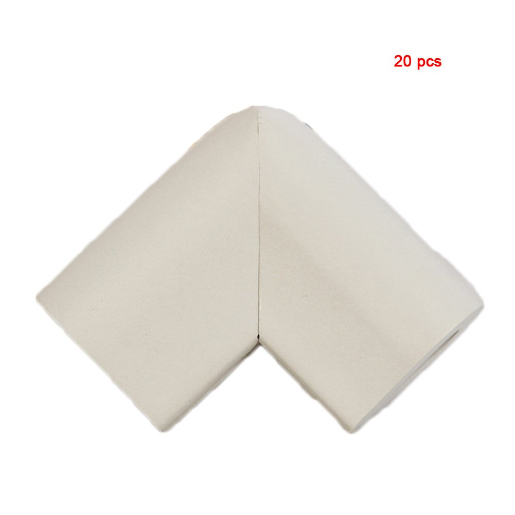 Andyshi Baby Anti-collision U shaped Furniture Safety Corner Guards Corner Bumpers(20 pcs) Gray