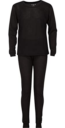 Amazon.com: PREMIUM Boys Thermal Underwear Set - Waffle Knit ...