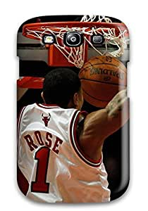 sports slam dunk nba basketball derrick rose chicago bulls NBA Sports & Colleges colorful Samsung Galaxy S3 cases