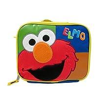 "Bolsa de almuerzo aislada con correa para el hombro ""Elmo"" de Sesame Street Elmo"
