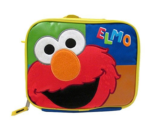 """Sesame Street Elmo Insulated Lunch Bag with Shoulder Strap """""""