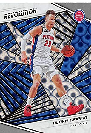 6b4614dfcd2 2018-19 Revolution Groove Basketball  76 Blake Griffin Detroit Pistons  Official NBA Trading Card