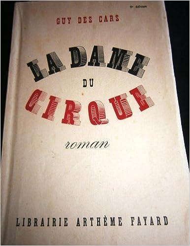 Telechargement Gratuit Ebook Format Pdf La Dame Du Cirque