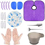 Hair Coloring Kit DIY Dyeing Tool Kit, Hair Tinting