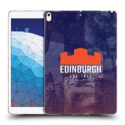 Official Edinburgh Rugby Edinburgh 2018/19 Logo Soft Gel Case Compatible for iPad Air (2019)