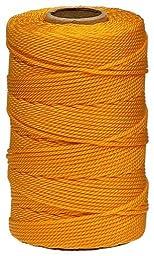 Lehigh GNT1812HD 425-Feet Nylon Twisted Twine Mason Line, Gold