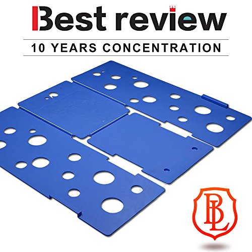 BoxLegend Clothes/T Shirt Folder Blue Plastic