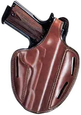 Bianchi 7 Shadow II Holster, Plain Tan, Right Hand - Ruger SP101 2in and Similar -