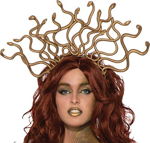 Costumes Medusa (Gold Medusa Headband)