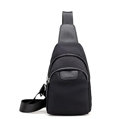 8ec3f9e58d MUZI New Chest Bag Female Small Messenger Bag Casual Canvas Nylon Oxford Handbag  Shoulder Outdoor Sports. Roll over image to zoom in