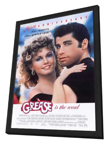 Grease - 27 x 40 Framed Movie Poster by Movie Posters