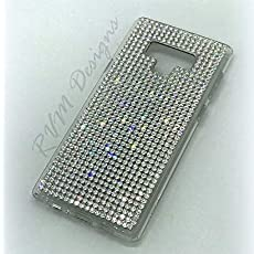 894cc735c Fullback Crystal phone case made with Clear Swarovski crystals for Samsung