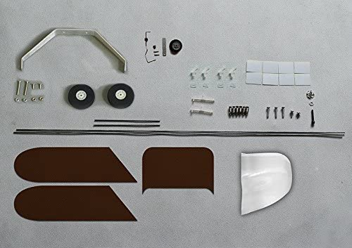 RC Aeroplane Balsa Wood Airplane Wingspan 1180mm J3 Kit Power System Covering S0804B