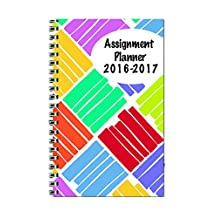 House of Doolittle 2016-2017 Weekly Academic Planner Assignment Book, Squares, 5x8-Inch (HOD274RTG63-17)