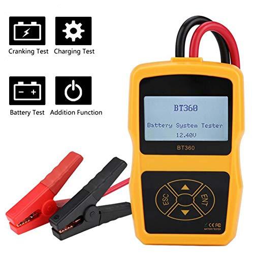 Beaviety Car Battery Tester Battery Capacity Tester Battery Test 12VBT360: