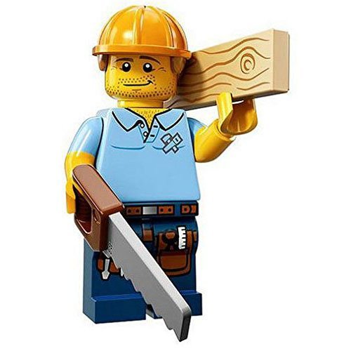 LEGO Minifigures Series 13 Carpenter Construction Toy from LEGO