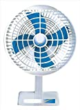 STARVIN F-02 2100 RPM IS :996 Approved Motor Laurels Mini Table Pedestal Fan(White)