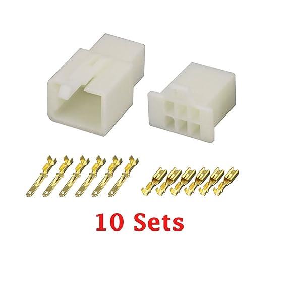Amazon.com: 10 Sets/Kits 6 Pin/way DJ7061A-2.8 Electrical Wire ...
