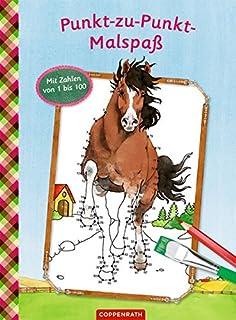 Bunter Malspaß für Pferdefreunde Mit farbigen Vorlagen Taschenbuch Deutsch 2018 Malbücher für Kinder