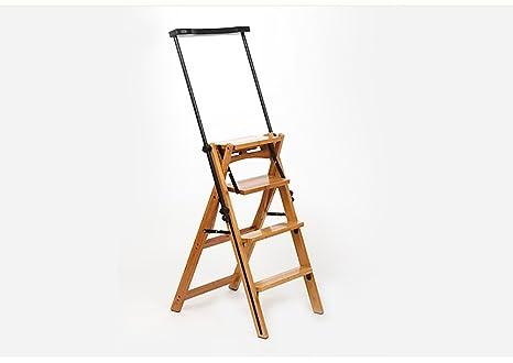 Scaletta In Legno Pieghevole : Sgabello scale scaletta pieghevole multifunzionale per uso domestico