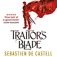 Traitor's Blade: The Greatcoats, Book 1 Audiobook by Sebastien de Castell Narrated by Joe Jameson