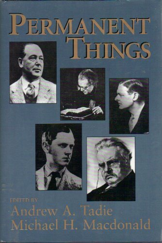 Image of Permanent Things: Toward the Recovery of a More Human Scale at the End of the Twentieth Century
